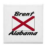 Brent Alabama Tile Coaster