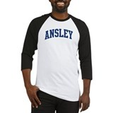 ANSLEY design (blue) Baseball Jersey