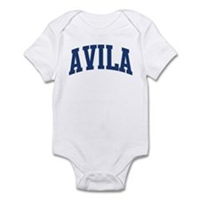 AVILA design (blue) Infant Bodysuit