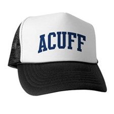 ACUFF design (blue) Trucker Hat