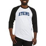 ATKINS design (blue) Baseball Jersey