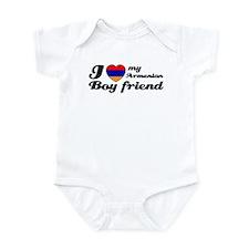 I love my Armenian Boyfriend Infant Bodysuit
