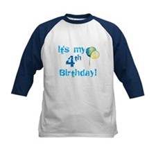 It's My 4th Birthday Tee