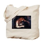Edvard Munch, Vampire Tote Bag