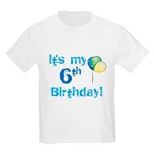 It's My 6th Birthday T-Shirt