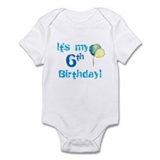 It's My 6th Birthday Infant Bodysuit