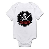 Savvy? Pirate Flag Onesie