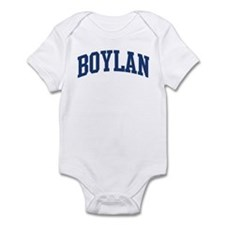 BOYLAN design (blue) Infant Bodysuit