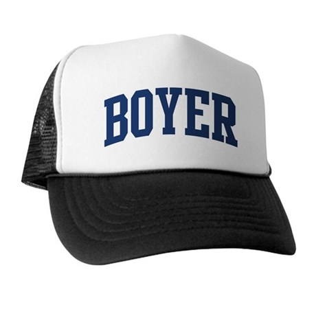 BOYER design (blue) Trucker Hat