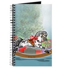 Rocking Horse With Gifts Journal
