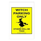 Witch Parking Postcards (Package of 8)