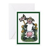 Cow Costume Greeting Cards (Pk of 20)