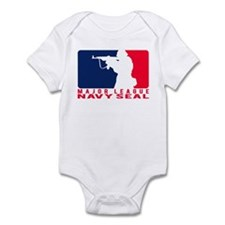 Major League Seal 2 - NAVY Infant Bodysuit