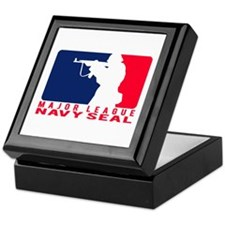 Major League Seal 2 - NAVY Keepsake Box