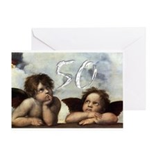 Raphael 50th Greeting Card