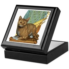 Cat (Red Tabby) Keepsake Box