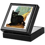 Cat (Black) Keepsake Box