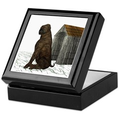Dog (Mastiff) Keepsake Box
