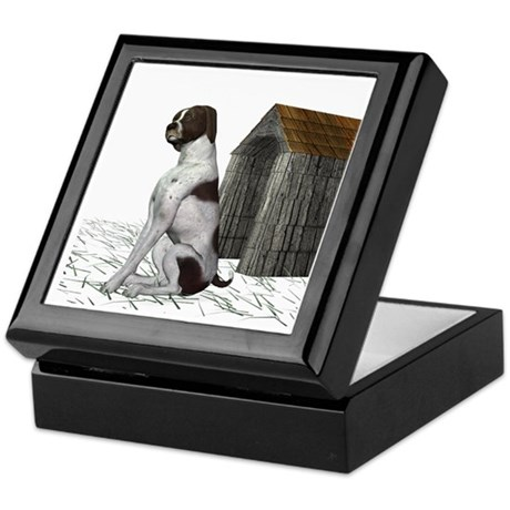 Dog (German Shorthaired) Keepsake Box