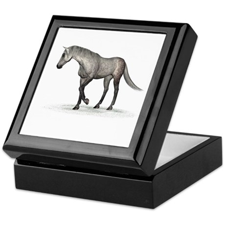 Horse (Dapple) Keepsake Box