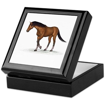 Horse (Bay) Keepsake Box