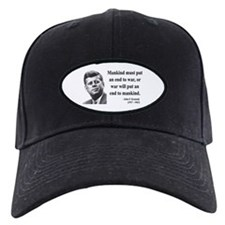 John F. Kennedy 2 Baseball Hat