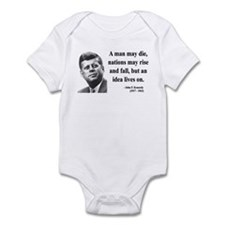 John F. Kennedy 3 Infant Bodysuit