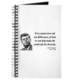 John F. Kennedy 4 Journal
