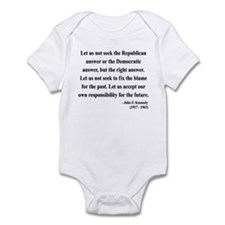 John F. Kennedy 6 Infant Bodysuit