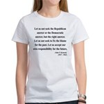 John F. Kennedy 6 Women's T-Shirt