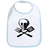 """DEADLY FOOD"" Bib"