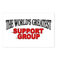 """The World's Greatest Support Group"" Postcards (Pa"
