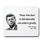 John F. Kennedy 9 Mousepad