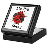 I'm the Mom Ladybug Keepsake Box