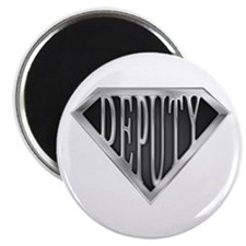"SuperDeputy(metal) 2.25"" Magnet (10 pack)"