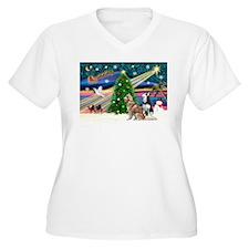 XmasMagic/2 Huskies T-Shirt