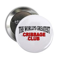 """""""The World's Greatest Cribbage Club"""" Button"""