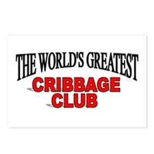 """The World's Greatest Cribbage Club"" Postcards (Pa"