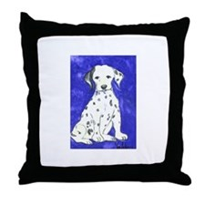 """Dalmatian"" Throw Pillow"