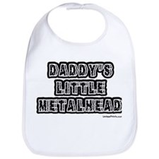 DADDY'S LITTLE METALHEAD Bib