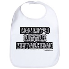 MOMMY'S LITTLE METALHEAD Bib