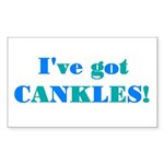 CANKLES! Rectangle Sticker
