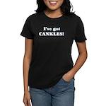 CANKLES! Women's Dark T-Shirt