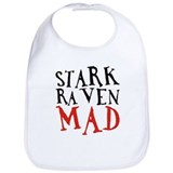 Stark Raven Mad Bib