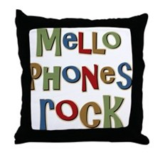 Mellophones Rock Player Lover Throw Pillow