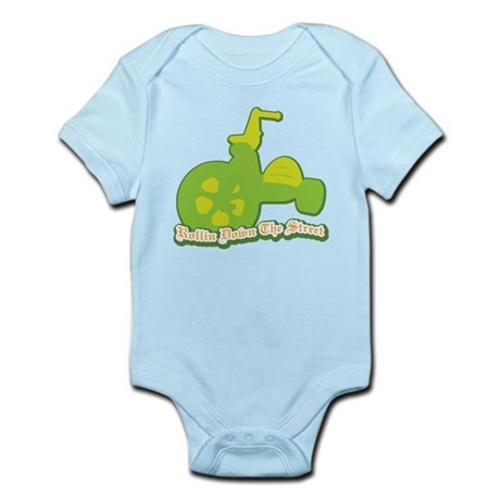 Rollin Down the Street Infant Bodysuit
