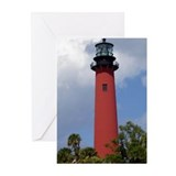 Jupiter Lighthouse Greeting Cards (Pk of 20)