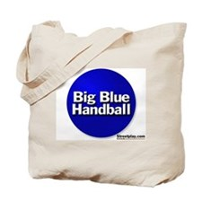 Big Blue Handball Tote Bag