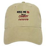Kiss Me I'm a CHARITY OFFICER Baseball Cap