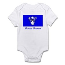 Dundee Scotland Flag Infant Bodysuit